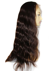 8-24 Inch Unprocessed Brazilian Human Hair Lac Wig Glueless Full Lace Wig
