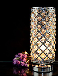 Crystal Silver Table Lamps