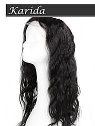 virgem de alta qualidade peruca de cabelo humano, cabelo karida cheia do laço virgem brasileira peruca de cabelo humano