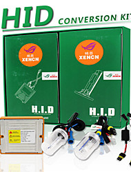 nueva línea de conversión 9005 35w 5500k xenón bi faros de los coches súper blancos HB3 12v lastre xencn actualizar conjuntos HID kit