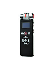 8GB T80 Digital Voice Recorder Dictaphone with MP3 Player and LED sceen