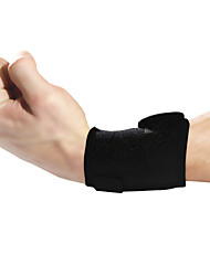 Ollas Unisex Outdoor Fitness Opening Black Wrist Protector with Sponge/Hands Protective Gear with Springs Free SizeS9208