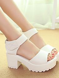 Astrider Women's Shoes Black/Almond Chunky Heel 3-6cm Sandals