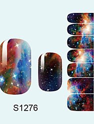 14PCS Nail Art Stickers A Series S1276