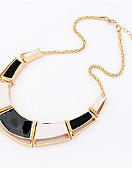 New Arrival Fashional Hot Sellign Geometric Drip Necklace