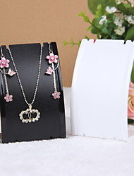 Jewelry Displays Resin 1pc Transparent / Black / White