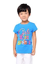 Katoen - Zomer - Boy's - T-shirt - Korte mouw
