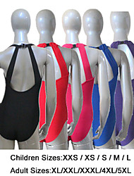 Cotton/Lycra Low Back with a Clasp Closure Tank Leotards More Colors for Girls and Ladies