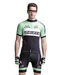 forider® коротким рукавом майка велосипедов Одежда для велосипедного мужские мужские костюмы, костюмы Тур де Франс команда