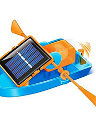 Toy Kit DIY Solar Powered Rowing Boat, ECO-friendly