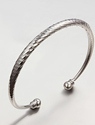 2015 New Design Party/Work/Casual Silver Plated Cuff Bracelet Wedding Jewelry for Men And Women
