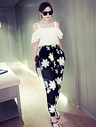 Pantalones ( Gasa/Rayón )- Casual Mujer