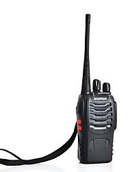 Baofeng bf-888s talkie-walkie à deux voies interphone radio UHF 400-470MHz 5W 16ch (noir)