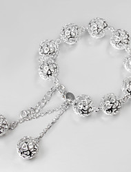 Италия 925 серебряный дизайн моды браслет из бисера ограниченная продажа браслеты и манжеты