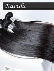 3 шт / много 100% необработанной девственница человеческие волосы, волосы ткать оптовая девственница перуанских волос