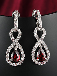 partito di prezzi all'ingrosso / oro casuale orecchini di goccia placcati gioielleria di alta qualità