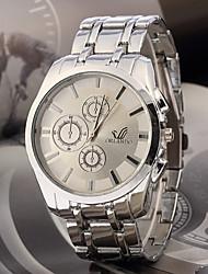 Время Fahion металлический браслет часы