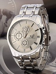 Zeit fahion Metall Armbanduhr