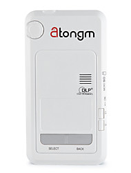 Atongm D9 All-In-One Android 4.2 Quad-Core 1200 Lumens FHD Smart DLP PICO LED Projector (White)