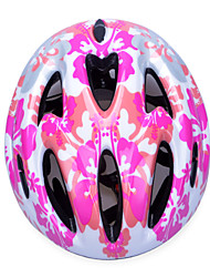 Fashion Comfortable+Safety EPS 11 Vents Kids' Integrally-molded Cycling Helmet - Pink + Silver