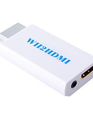 Wii to HDMI Converter Adapter Wii2 HDMI 3.5mm Audio Box Wii-link