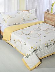 Царь летом одеяло цветочный хлопчатобумажные ткани королева полный размер кровати