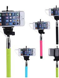 titular de polo extensible selfie mano monopie palo para iphone 5 / 5s / 6 (colores surtidos)