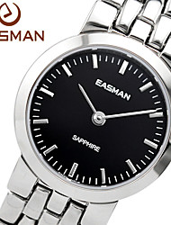 EASMAn Watches Women Black Swiss Movement Sapphire Fashion 2015 Hot New Gold Ladies Quartz Watch Wristwatches