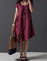 Elegant Print Dress
