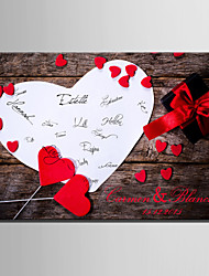 E-HOME® Personalized Signature Canvas Frame-Love