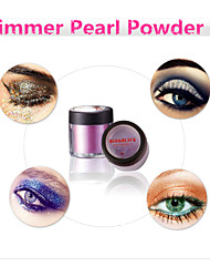 Red&Black Shimmer Eyeliner Eyeshadow Powder Gorgeous Brilliant Shining Fine 3g
