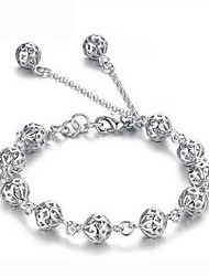 Women's 925 silver plating bracelet high quality type(single)