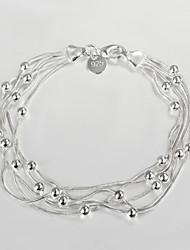 toevallige S925 verzilverde link / ketting armband voerman armbanden voor vrouwen 2015 nieuwe design