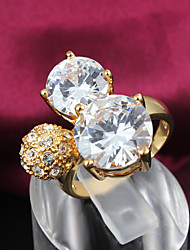 Vintage/Party Gold Plated Statement Ring