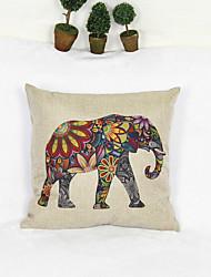 Kreativ elephant Stil Kissenbezug Sofakissenbezug Wohnkultur (17 * 17 Zoll)