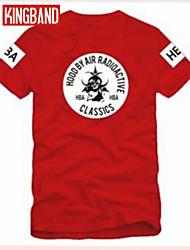 CIP Men and Women Hood BY Air HBA European and American Street Trend Short Sleeve T-shirt