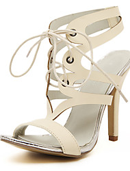 Vinda Women's Shoes Stiletto Heel 10-12cm Sandals (PU)