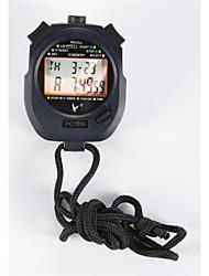 profondo blu cronometro elettronico timer pc2810 doppia cronometro 10 memoria del cronometro movimento timer