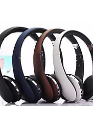 casque écouteurs stéréo de pliage pliables sans fil microphone avec annulation du bruit& batterie rechargeable li-ion