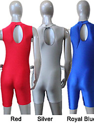 Nylon/Lycra Turtle-Neck Tank Unitards More Colors for Girls and Ladies