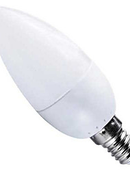 HRY® 3W E14 10XSMD2835 250LM LED Candle Lights LED Light Bulbs(220V)