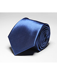 Men Work / Casual Neck Tie,Polyester Solid All Seasons