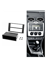 Car DVD Facia for FORD Focus C-Max S-Max Fusion Transit Fiesta w/pocket CD Radio Fascia Installation Panel Trim Kit
