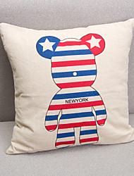 декоративные наволочки новой творческой насилие Йорк медведь диван наволочка автомобильные