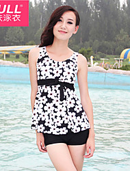 Woman fashion cute FLOWER SWIMSUIT