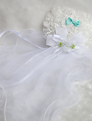 Wedding Veil Two-tier Communion Veils Pencil Edge