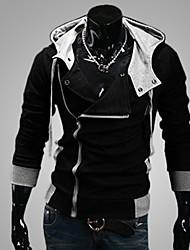 Masculino Sets activewear Casual/Formal/Esporte Cor Solida Misto de Algodão Manga Comprida Masculino