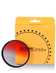 Zomei 55 mm absolvierte schrittweise Farbe Rotfilter