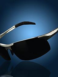 Homens 's Polarized/100% UV400 Enrole Óculos de Sol