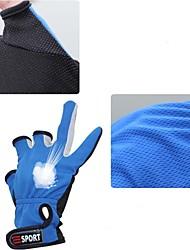 materiais nano 3 luvas sem dedos de pesca anti-derrapante frofa
